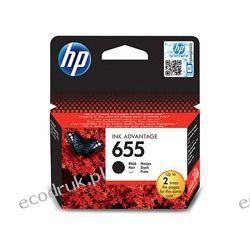 Tusz HP 655 czarny oryginalny