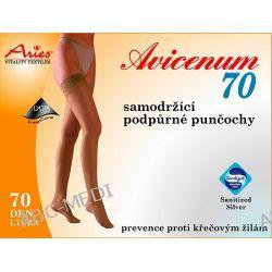 AVICENUM - pończochy profilaktyczne do podwiązek- 70 DEN