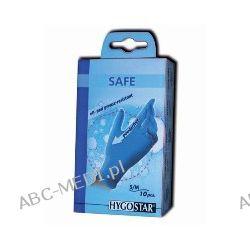 Rękawice nitrylowe bezpudrowe SAFE blau – małe opakowania - 10 szt.