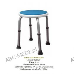 BLUE - TABORET OKRĄGŁY do wanny Model 528020