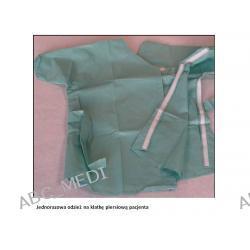 Jednorazowa odzież dla pacjentów ochraniajaca tors