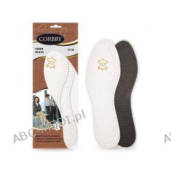 WKŁADKI SKÓRZANE LEDER WHITE - komfort i wygoda chodzenia