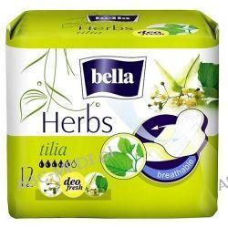 Podpaski Bella Herbs z kwiatem lipy - opak. 12 szt. Chusty i apaszki