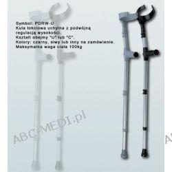 Kula inwalidzka łokciowa z miękkim uchwytem -  1 szt. Chusty i apaszki