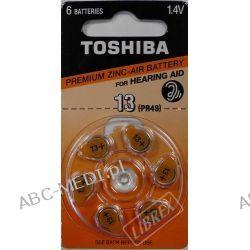 BATERIE TOSHIBA 13 do aparatu słuchowego -blister A`6 SZT.