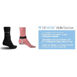 TeVeno Socken aktywne przeciw-żylakowe skarpety  Chusty i apaszki