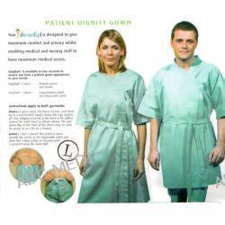 Komplet 2-częściowy odzieży do badań dla pacjenta