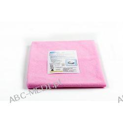 Podkład na łóżko nieprzemakalny wielorazowy bawełniany 70 x 60 cm różowy  Materiały higieniczne