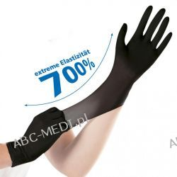 Rękawice nitrylowe SAFE SUPER STRETCH, bezpudrowe Chusty i apaszki