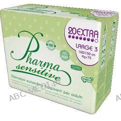 Pieluchomajtki Pharma Sensitive XL 20 sztuk w opakowaniu Pozostałe