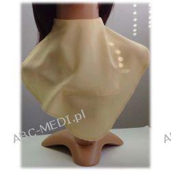 Osłona w formie apaszki ABC-MEDI - dla osób po tracheotomii i laryngektomii model BANANOWY Odzież, Obuwie, Dodatki