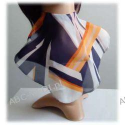 Osłona w formie apaszki ABC-MEDI - dla osób po tracheotomii i laryngektomii model GRAFIKA Odzież, Obuwie, Dodatki