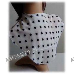 Osłona w formie apaszki ABC-MEDI - dla osób po tracheotomii i laryngektomii model B-czGR Odzież, Obuwie, Dodatki