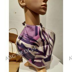 Osłona w formie apaszki ABC-MEDI - dla osób po tracheotomii i laryngektomii model 16076-FIOLET Odzież, Obuwie, Dodatki