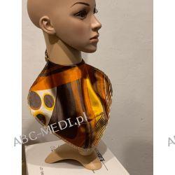 Osłona w formie apaszki ABC-MEDI - dla osób po tracheotomii i laryngektomii model ZŁ-JES Odzież, Obuwie, Dodatki