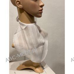 Osłona w formie apaszki ABC-MEDI - dla osób po tracheotomii i laryngektomii model BIA/ZŁ Odzież, Obuwie, Dodatki