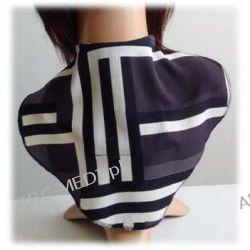 Osłona w formie apaszki ABC-MEDI - dla osób po tracheotomii i laryngektomii model 9934 Odzież, Obuwie, Dodatki