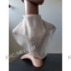 Osłona w formie apaszki ABC-MEDI - dla osób po tracheotomii i laryngektomii model ECRU/PRZE Odzież, Obuwie, Dodatki