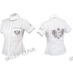 Villa Horse Damska koszula turniejowa z herbem HERITAGE