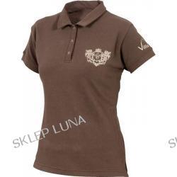 Villa Horse Damska koszulka polo z herbem HERITAGE