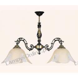 ALLADYN LIVIA - LAMPA 2 PŁOMIENNA - ZKM-594