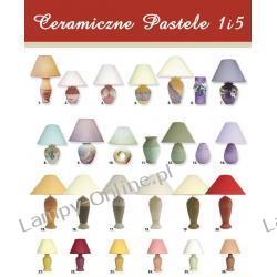 LAMPY NOCNE CERAMICZNE PASTELE 1 i 5