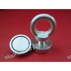 Uchwyt Magnetyczny Neodymowy Magnes HAK 40 kg