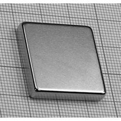 MAGNES NEODYMOWY Płytkowy 25x25x5mm N38...