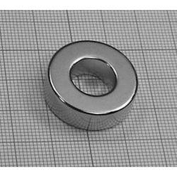 MAGNES NEODYMOWY Pierścieniowy 25x12x5 mm N38...