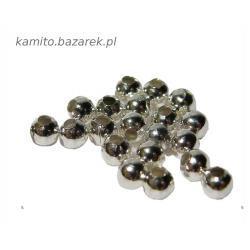 Koraliki metalowe 6 mm