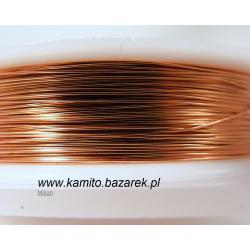 Drucik w kolorze miedzianym 0.3 mm