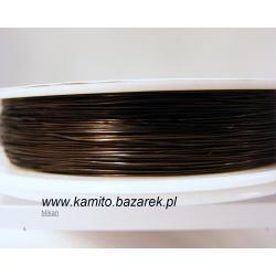 Drucik w kolorze ciemno brązowym 0.3 mm