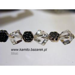 Koraliki kryształowe 6 mm