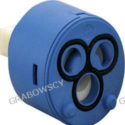 Głowica ceramiczna baterii jednouchwytowej 40 mm niska