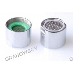 Perlator umywalkowy zlewozmywakowy chrom do bateri z pokrętłami