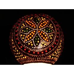 Lampa z tykwy naturalna Afryka   Djembe