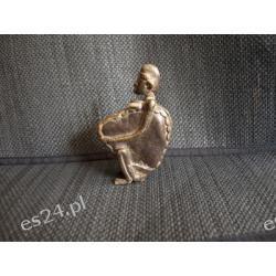 Figurka mosiądz Rzeźba