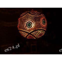 Lampa z tykwy naturalna Naszyjniki