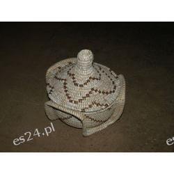 Kosz wiklina Senegal Dzwonki, cymbałki, trójkąty