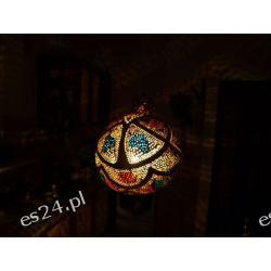Naturalna lampa TYKWA  Figurki i rzeźby