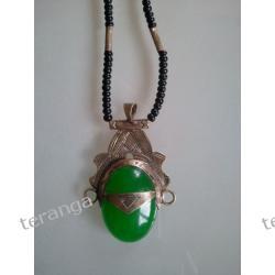 Naszyjnik MALI tuareg zieleń Pozostałe
