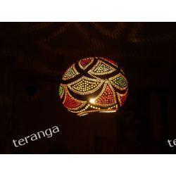 Naturalna lampa TYKWA / abażur