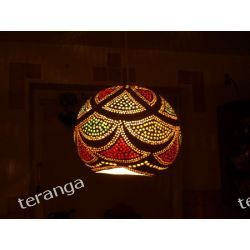 Naturalna lampa TYKWA / abażur Klasyczne