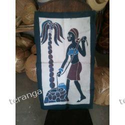 Batik TKANINA RĘCZNIE MALOWANA Pozostałe