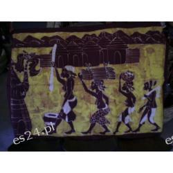 Batik TKANINA RĘCZNIE MALOWANA Tkaniny