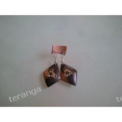 Kolczyki HEBAN inkrustowane   Dzwonki, cymbałki, trójkąty