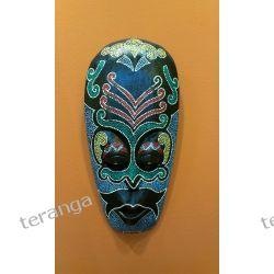 Maska drewno tekowe malowana kolor Pozostałe