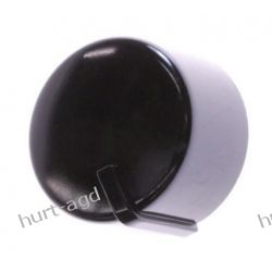 Pokrętło czarne kuchenki Whirlpool