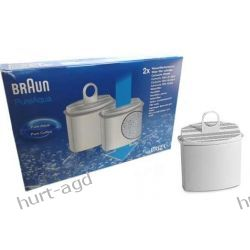 Filtry wody ekspresu do kawy Braun PureAqua 2szt Do kuchni