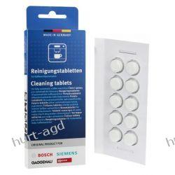 Tabletki czyszczące do ekspresu do kawy Bosch 10szt RTV i AGD